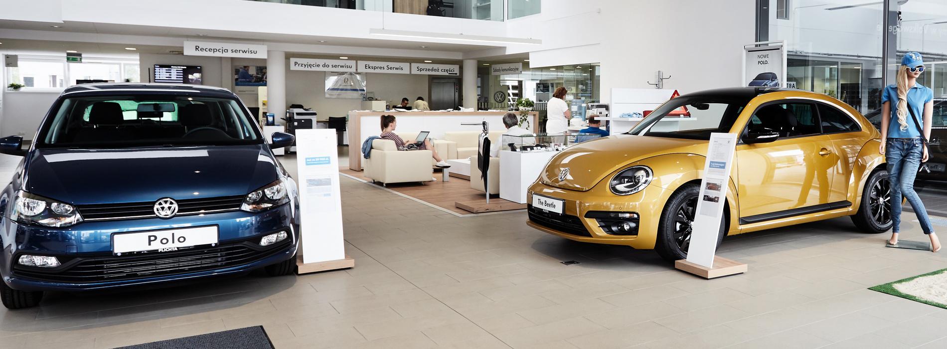 Salon samochodowy Plichta
