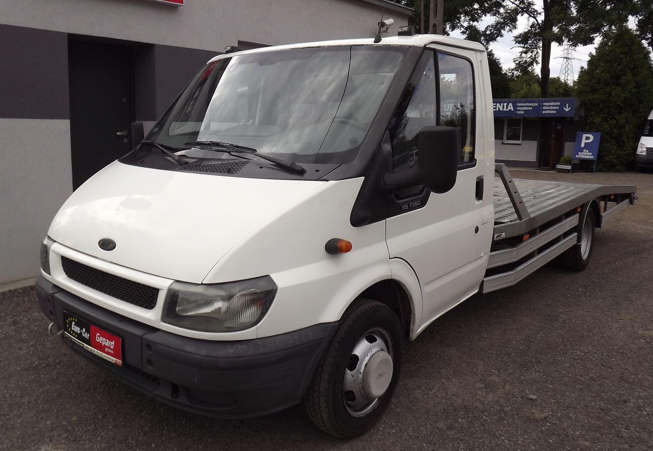 Ford Transit VI Auto-laweta - Wypożyczalnia Euro Car Janów Lubelski, Wynajem