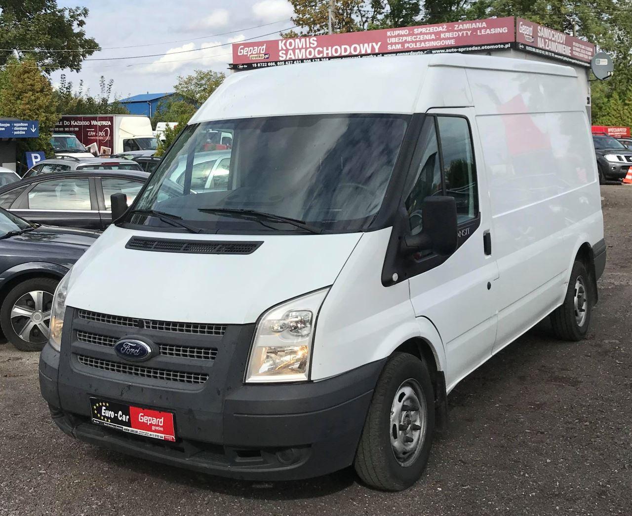 Ford Transit - Wypożyczalnia Euro Car Janów Lubelski, Wynajem