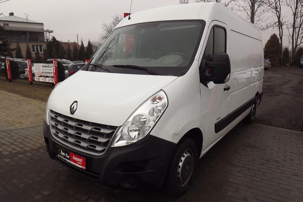 Renault Master III Dostawczy - Wypożyczalnia Euro Car Janów Lubelski, Wynajem