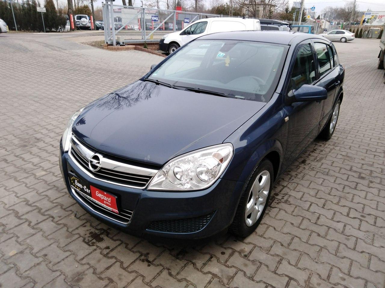 Opel Astra III Hatchback 5-osobowy - Wypożyczalnia Euro Car Janów Lubelski, Wynajem