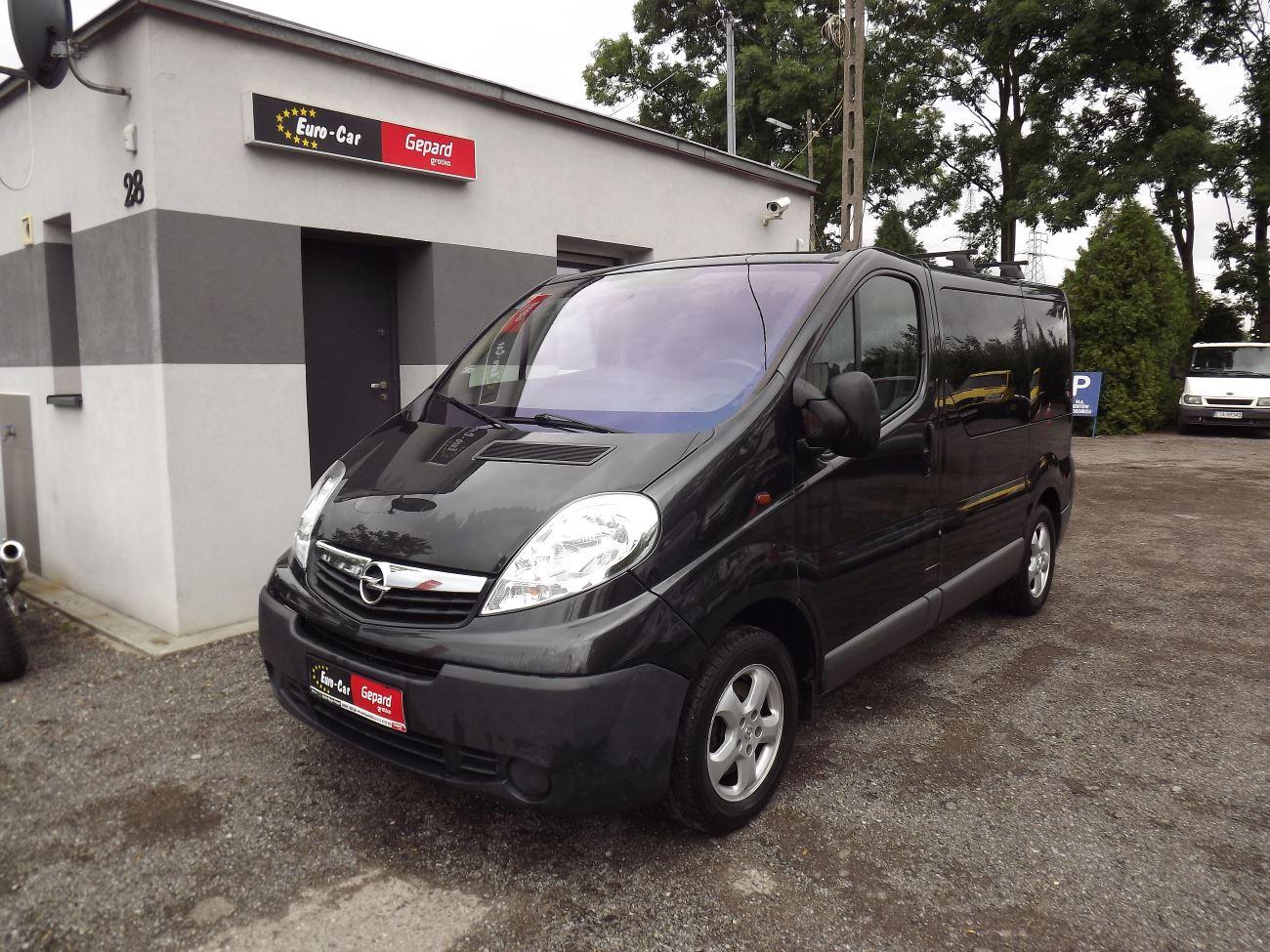 Opel Vivarro - Wypożyczalnia Euro Car Janów Lubelski, Wynajem